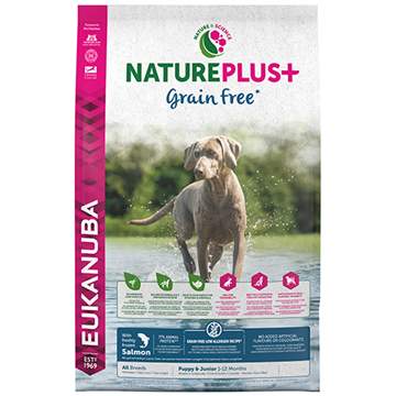 Nature Plus+ Puppy Grain Free - All Breeds - Laks