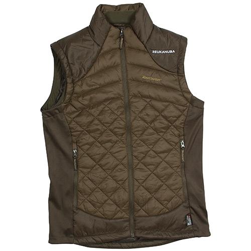 Cumberland Quiltet Vest, Dark elm, Large